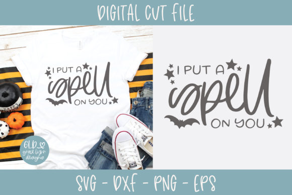 I Put a Spell on You Graphic Crafts By GraceLynnDesigns
