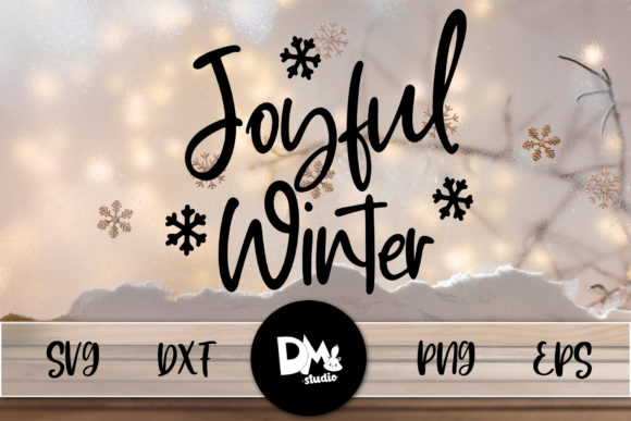 Print on Demand: Joyful Winter Graphic Crafts By Sharon ( DMStd )