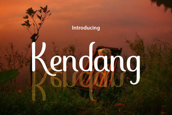 Print on Demand: Kendang Sans Serif Font By da_only_aan