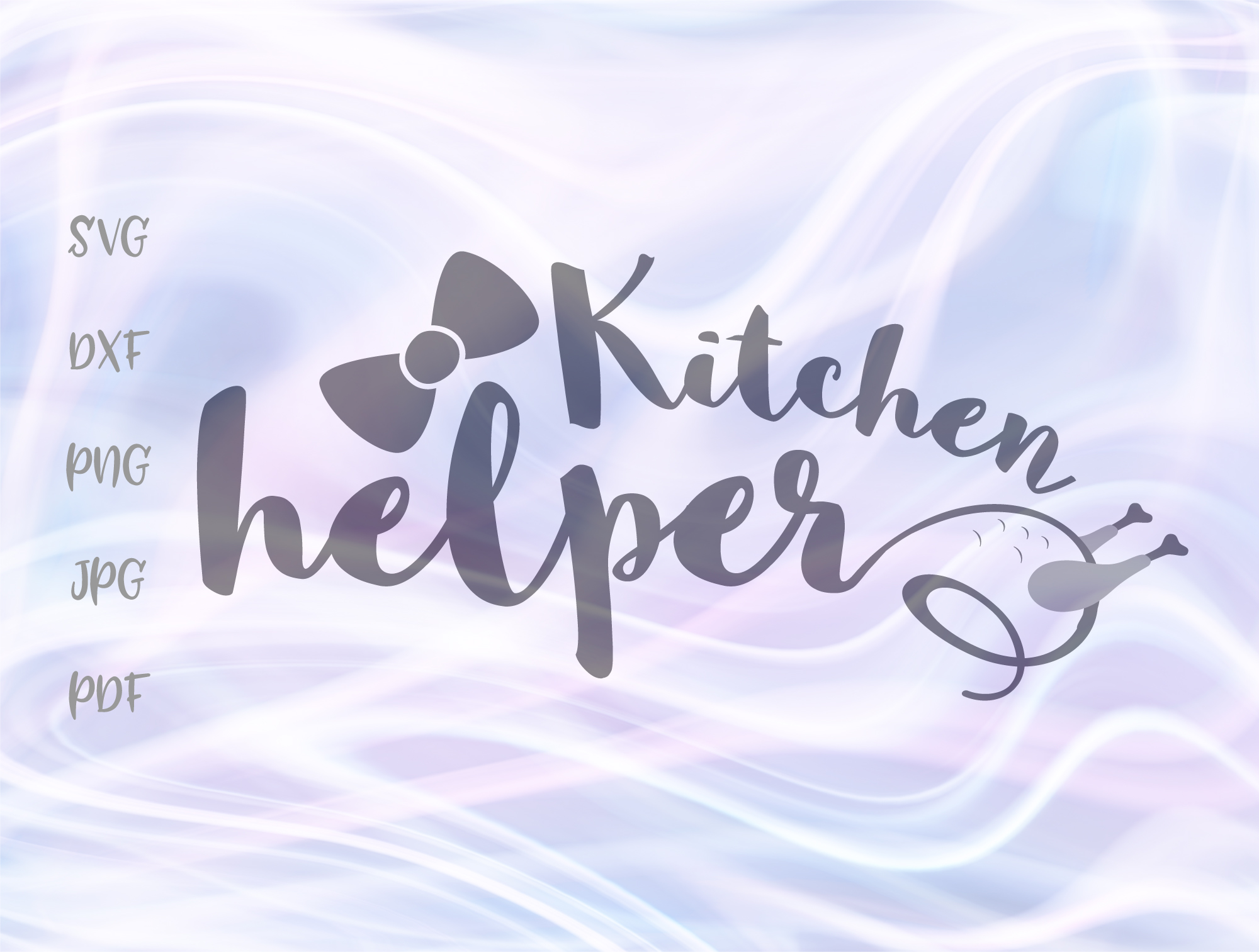 Download Free Kitchen Helper Girl Graphic By Digitals By Hanna Creative Fabrica for Cricut Explore, Silhouette and other cutting machines.