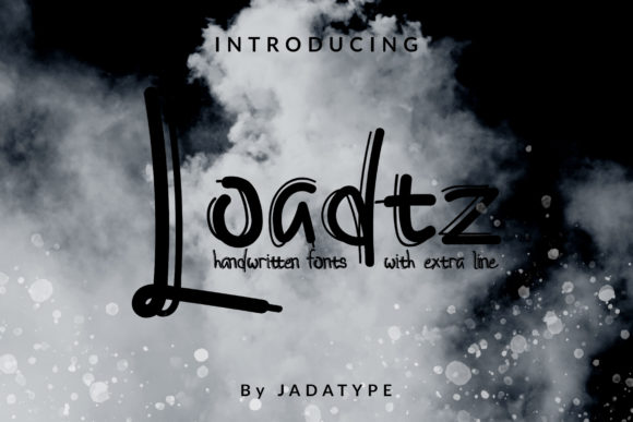 Print on Demand: Loadtz Display Font By jadatype