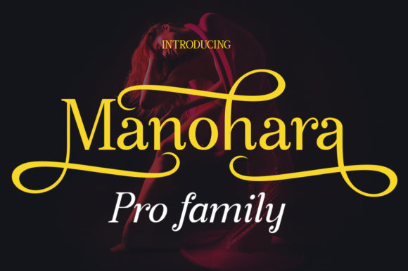 Print on Demand: Manohara Pro Family Serif Font By bbakey