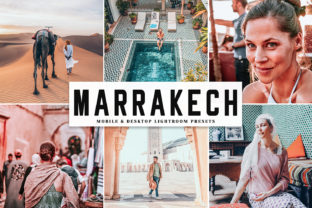 Marrakech Lightroom Presets Pack Graphic By Creative Tacos