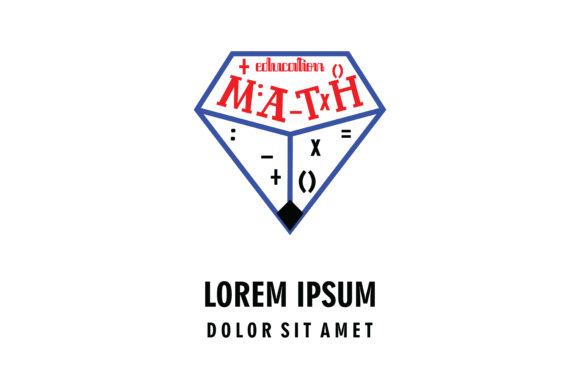 Download Free Math Education Company Logo Graphic By Yuhana Purwanti for Cricut Explore, Silhouette and other cutting machines.
