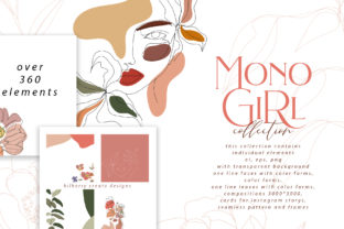 MonoGirl Collection Graphic By BilberryCreate