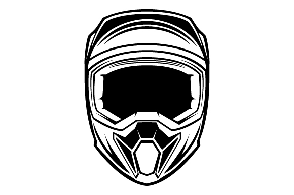 Download Free Motorbike Helmet Glyphicon Logo Design Graphic By Graphicrun123 for Cricut Explore, Silhouette and other cutting machines.