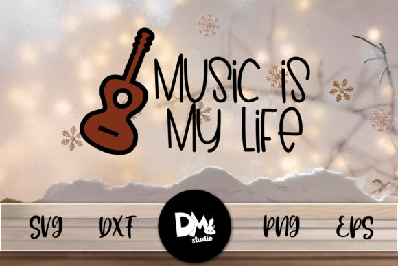 Print on Demand: Music is My Life Graphic Crafts By Sharon ( DMStd )