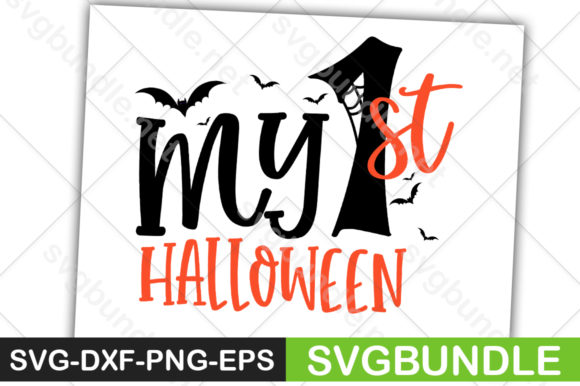 Print on Demand: My 1st Halloween Graphic Crafts By svgbundle.net
