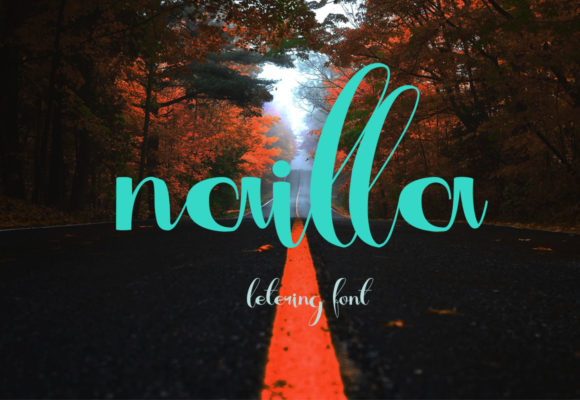 Print on Demand: Nailla Script & Handwritten Font By darnotok005 - Image 1