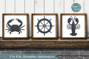 Print on Demand: Nautical Elements Graphic Crafts By Designs by Jolein