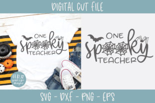 One Spooky Teacher Graphic By GraceLynnDesigns