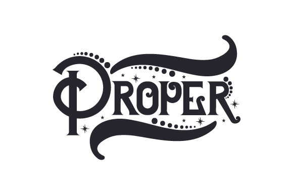 Download Free Proper Svg Cut File By Creative Fabrica Crafts Creative Fabrica for Cricut Explore, Silhouette and other cutting machines.