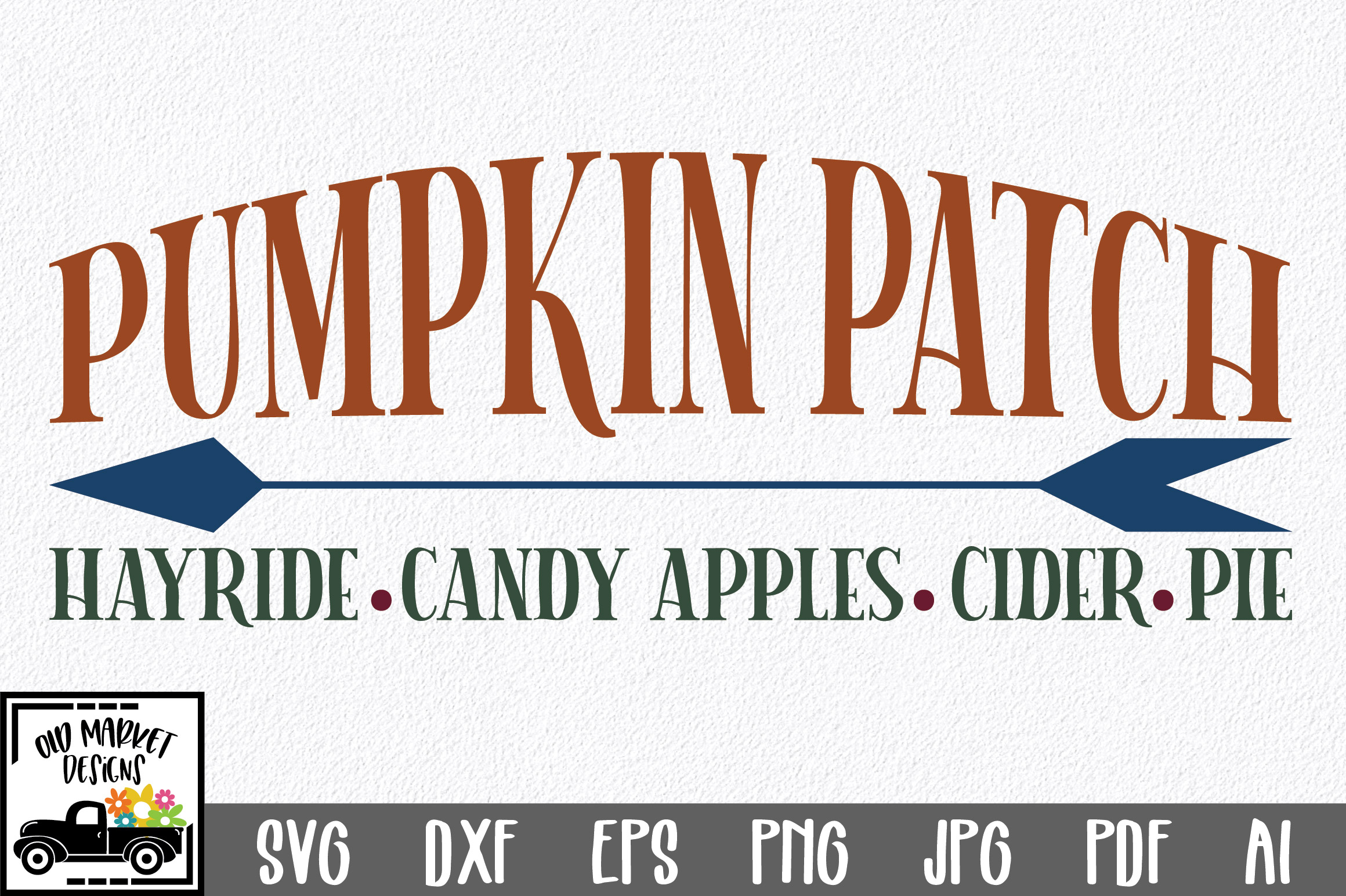Download Free Pumpkin Patch Graphic By Oldmarketdesigns Creative Fabrica for Cricut Explore, Silhouette and other cutting machines.