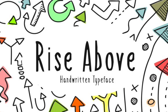 Print on Demand: Rise Above Script & Handwritten Font By Imposing Fonts
