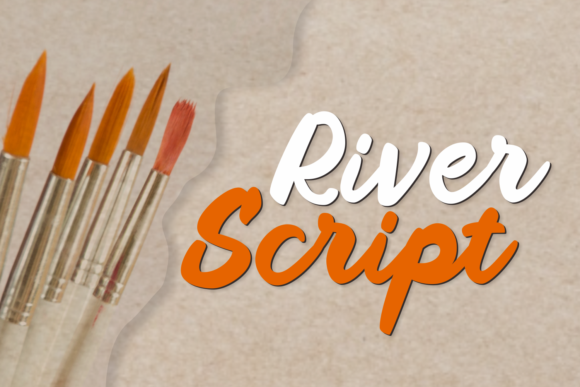 River Script Font By Aysa - 7NTypes Image 1