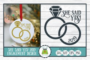She Said Yes Graphic By funkyfrogcreativedesigns