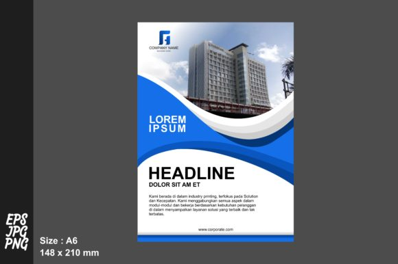 Print on Demand: Simple Flyer Template Graphic Graphic Templates By Arief Sapta Adjie