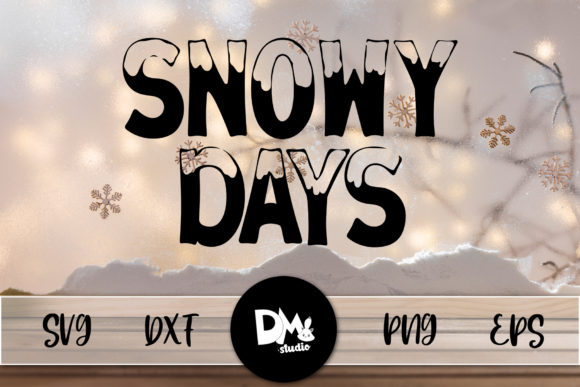 Print on Demand: Snowy Days Graphic Crafts By Sharon ( DMStd )
