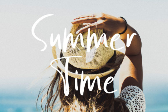 Print on Demand: Summer Vibes Script & Handwritten Font By MJB Letters - Image 2