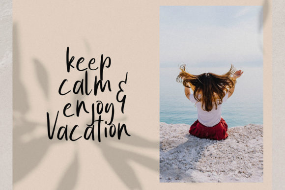 Print on Demand: Summer Vibes Script & Handwritten Font By MJB Letters - Image 5