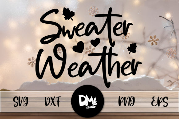 Print on Demand: Sweater Weather Graphic Crafts By Sharon ( DMStd )