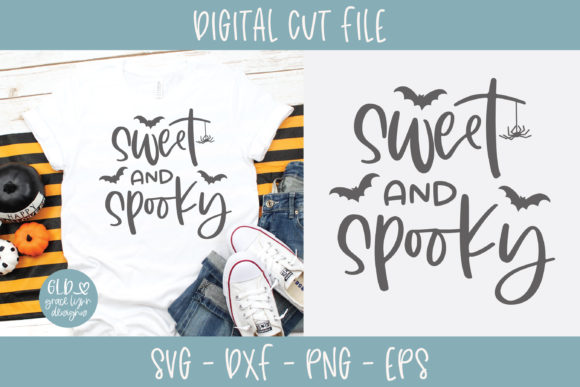 Sweet and Spooky SVG Graphic Crafts By GraceLynnDesigns