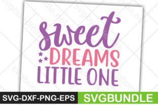 Print on Demand: Sweet Dreams Little One Graphic Crafts By Designartstore