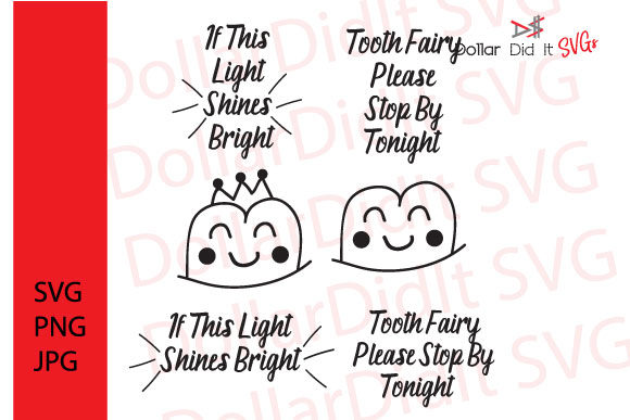 Download Free Tooth Fairy Please Stop By Graphic By Dollar Did It Svg Design for Cricut Explore, Silhouette and other cutting machines.