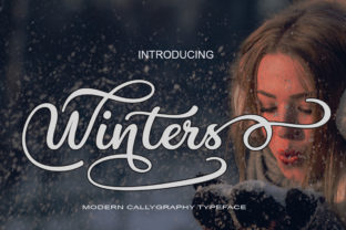 Winters Font By art design