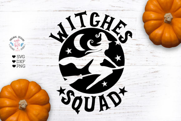 Witches Squad Graphic By GraphicHouseDesign