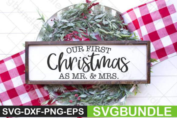 Print on Demand: 22 Christmas SVG Bundle Graphic Print Templates By svgbundle.net - Image 17