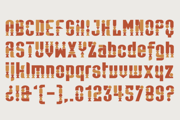 Print on Demand: Antica Color Fonts Font By yai.salinas - Image 3