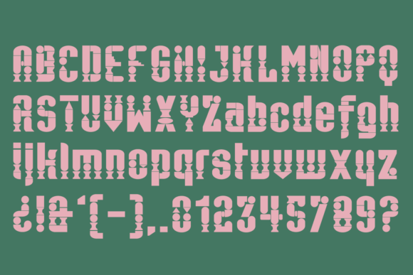 Print on Demand: Antica Color Fonts Font By yai.salinas - Image 4