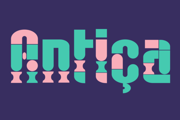 Print on Demand: Antica Color Fonts Font By yai.salinas