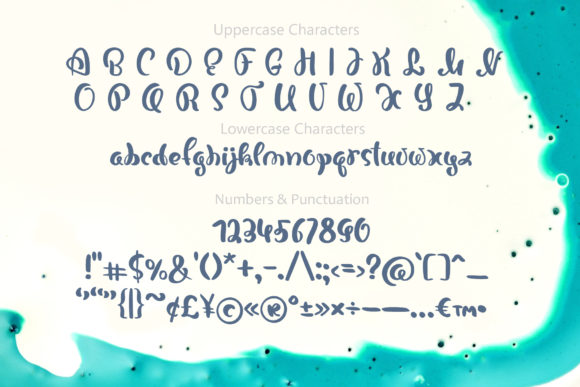 Print on Demand: Bonjour Script & Handwritten Font By Happy Letters - Image 5