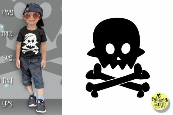 Download Free Boo Skull Baby Halloween Graphic By Midmagart Creative Fabrica for Cricut Explore, Silhouette and other cutting machines.