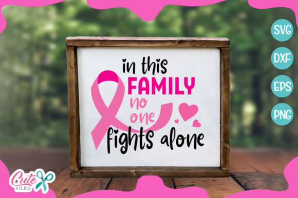Bundle Breast Cancer Awereness Graphic By Cute files Image 4