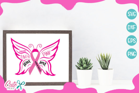 Bundle Breast Cancer Awereness Graphic Illustrations By Cute files - Image 10
