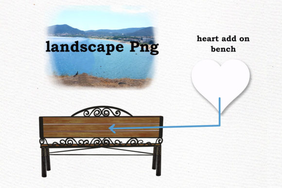 Couple on the Bench Custom Couples Graphic By LeCoqDesign Image 6