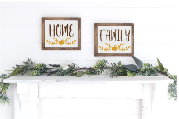 Print on Demand: Fall Farmhouse Family Wall Graphic Crafts By Dana Tucker - Image 3