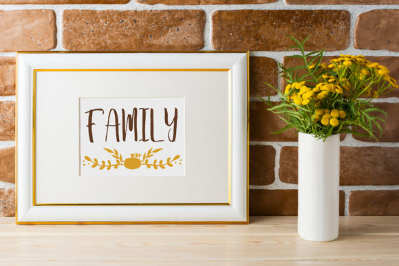 Print on Demand: Fall Farmhouse Family Wall Graphic Crafts By Dana Tucker - Image 1