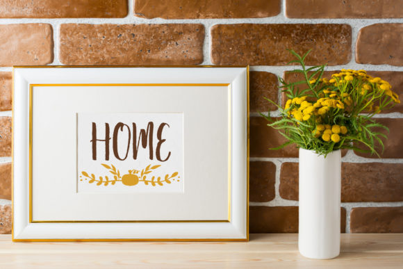 Download Free Fall Farmhouse Home Wall Art Graphic By Dana Tucker Creative for Cricut Explore, Silhouette and other cutting machines.