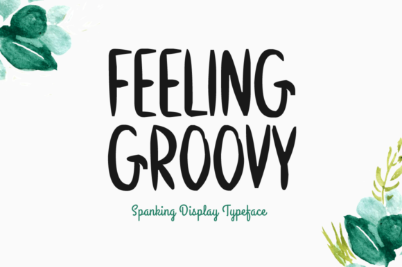 Feeling Groovy Display Font By Imposing Fonts