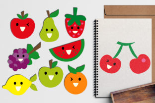 Fruits Faces Graphic By Revidevi