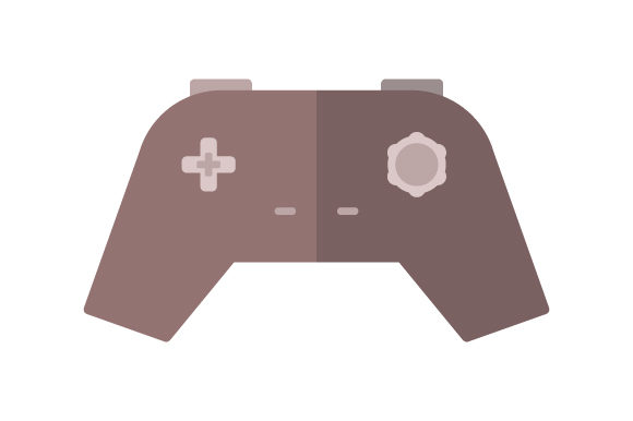 Download Free Game Pad Icon Graphic By Marco Livolsi2014 Creative Fabrica for Cricut Explore, Silhouette and other cutting machines.