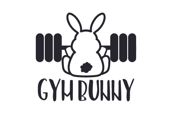 Gym Bunny Craft Design By Creative Fabrica Crafts Image 1