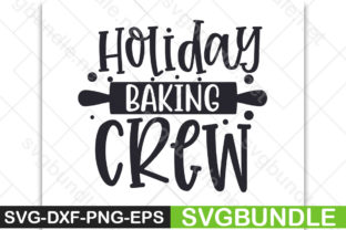 Print on Demand: Holiday Baking Crew Graphic Print Templates By Designartstore
