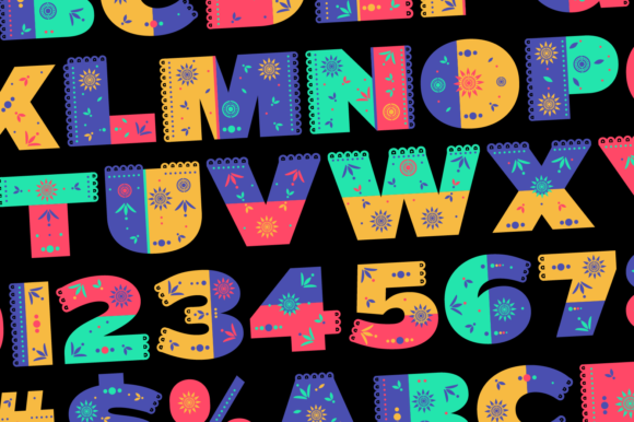 Print on Demand: Itze Color Fonts Font By yai.salinas - Image 7