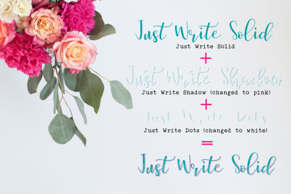 Just Write Font By joanne.hewitt Image 8