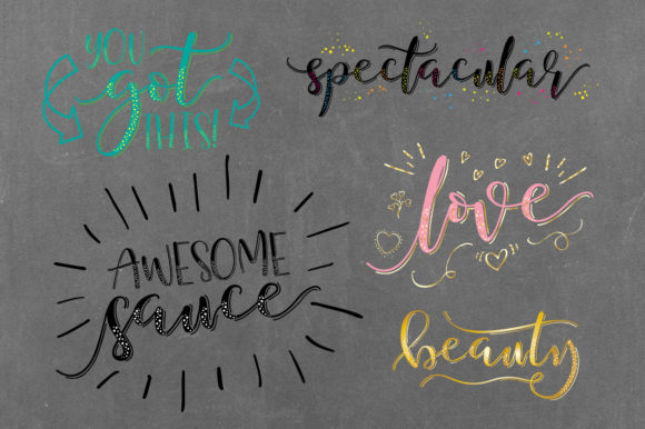 Just Write Font By joanne.hewitt Image 9